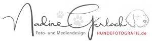 Logo Nadine Gerlach Hundefotografie